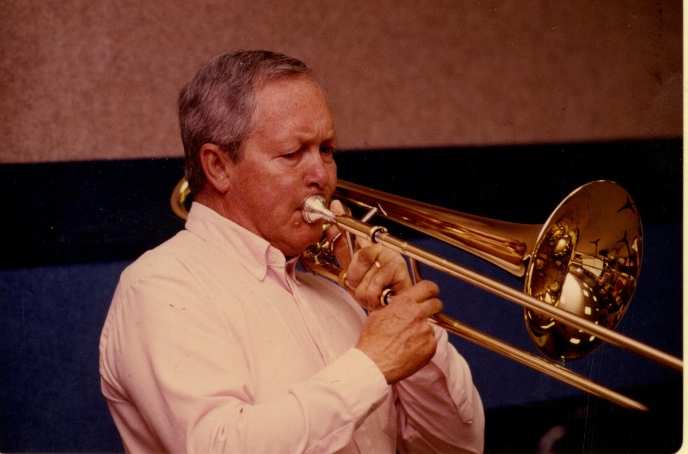 davidbrubeck.com George Roberts, Mr. Bass Trombone Courtesy Walt Disney World c 2012 David William Brubeck All Rights Reserved