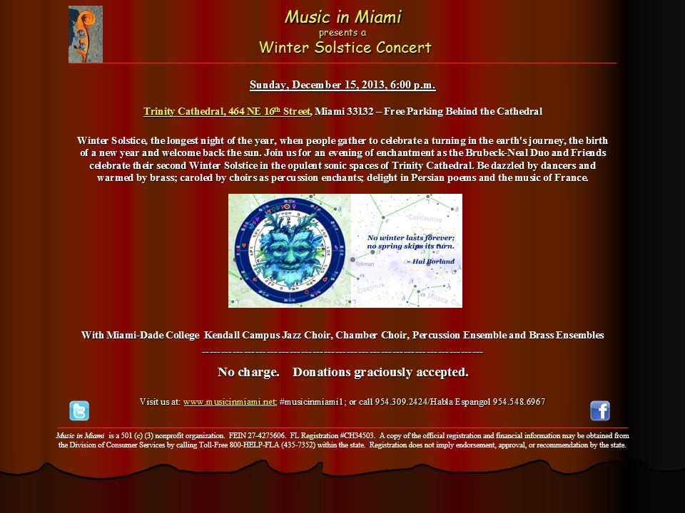 Music in Miami Winter Solstice Concert_12152013_email blast_klg