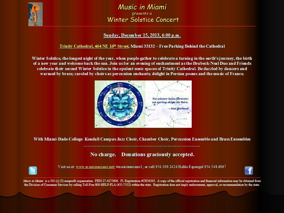 Music in Miami Winter Solstice Concert_12152013_email blast_klg