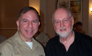 Stephen Bulla with John Williams