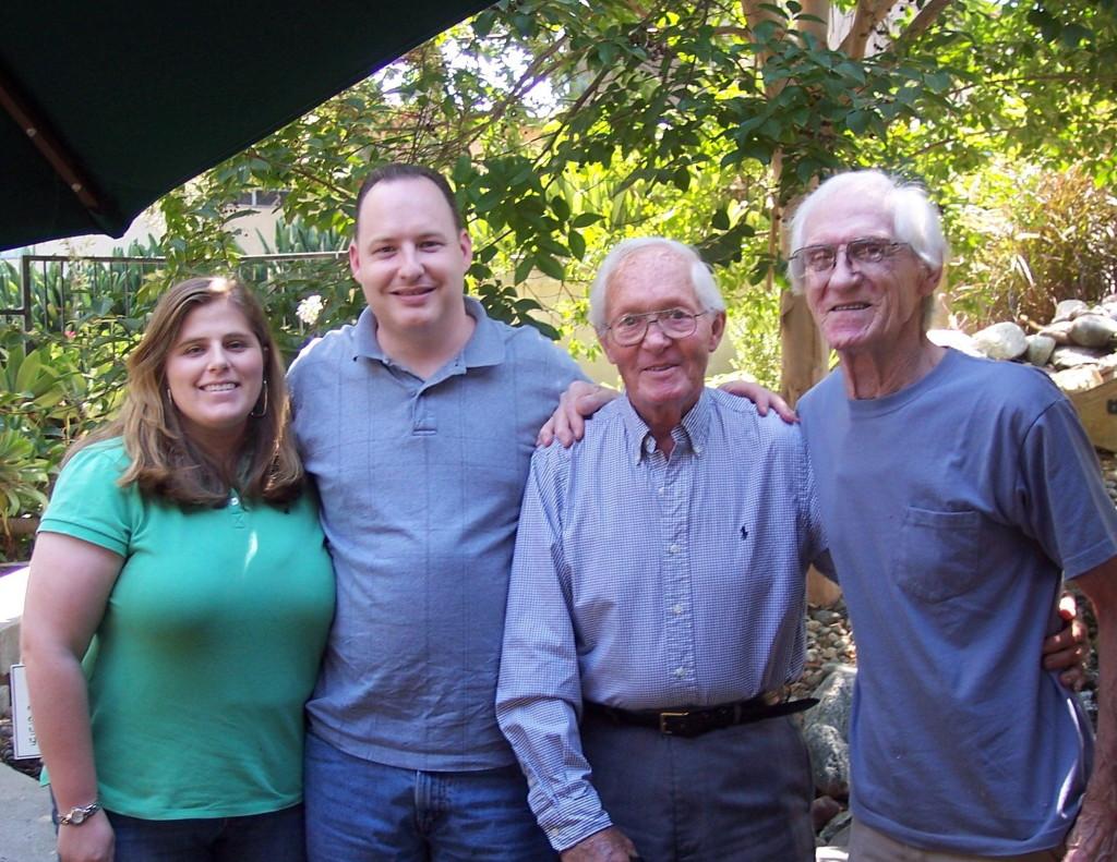 Allison Yeager, Jon Yeager, George Roberts & Matt Litwaitis in 2009