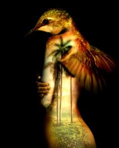 """Justo Gimeranez """"Zum Zum II""""  Oil on Canvas 46"""" x 39 """" 2011"""