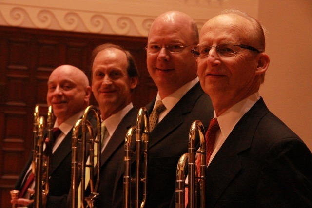CSO Trombone Section with Vernon, Mulcahy, Ellefson & Friedman
