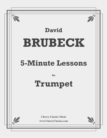 5-Minute Lessons for Pre-Elementary Trumpet or Trombone